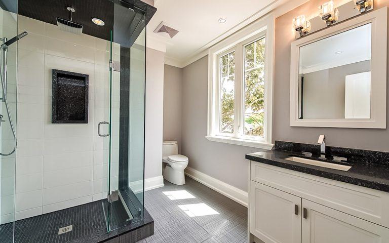 Toronto Bathroom Home Renovations by Milman Design Build.