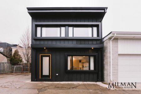 Toronto Laneway Suites Build by Milman Design Build.
