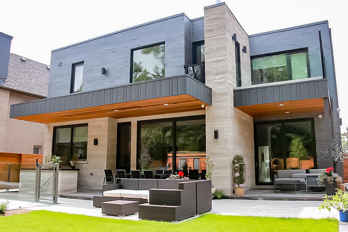 Toronto Custom Home Additions; Milman Design Build.